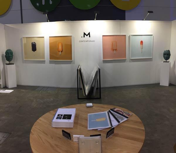 Art Installation by Tom Ellis: .M Contemporary – DENFAIR Melbourne